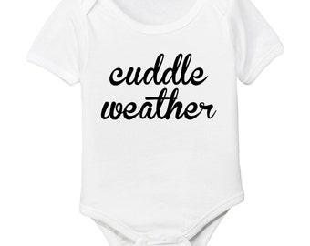 Cuddle Weather Organic Cotton Baby Bodysuit