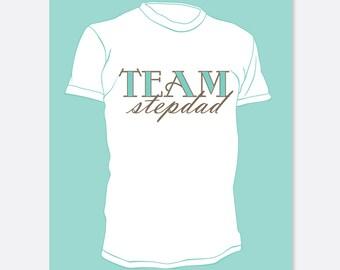 Team Stepdad Tee Card