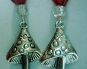 Alice's Mushrooms Earrings