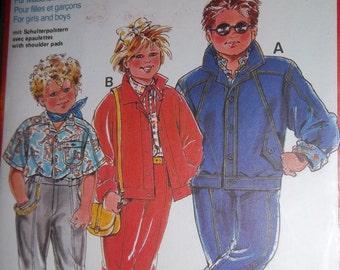 Sale - Burda 6069 - Sewing Pattern - Jacket - Pants -  Boy and Girl  - Jean Jacket - Lined Pants -Sizes 34-50 - Uncut Pattern