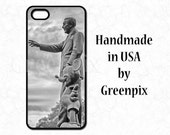 Partners statue iPhone case, i Phone 4, 4s, 5, 5s, 5c, 6, 6S, Walt Disney and Mickey Mouse,  black & white cell phone cover, Magic Kingdom