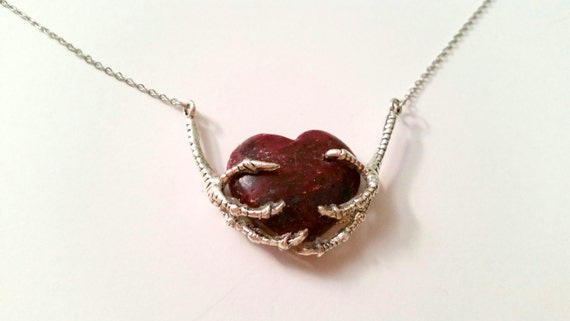 For the Love of the Mogok Ruby  (Raw Ruby Necklace)