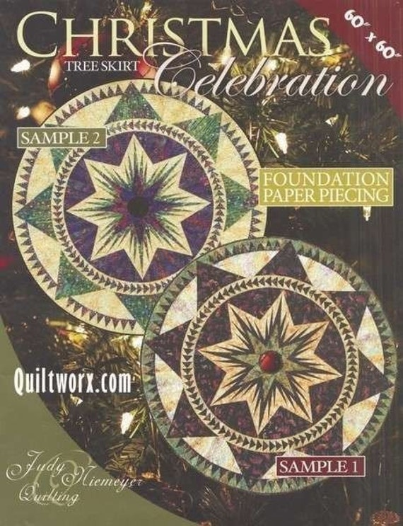 Christmas Celebration 60 Tree Skirt Foundation Judy