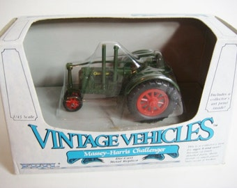 Massey Harris Challenger Toy Tractor - New In Box - Collectable