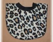 Cheetah Print Baby Bib
