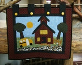 One Room Schoolhouse Wall Hanging