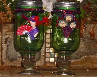 Sisters Mason Jar Solar Lights
