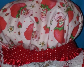 Boutique OOAK Strawberry Shortcake Hat ONLY
