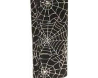 Bifold Woman Wallet Spider  Web Gothic Halloween Pattern USA Handmade  NEW, RARE