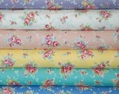 Yuwa floral bouquet 30's collection half yard bundle of reproduction fabric by Sunday Morning Designs