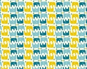 Organic Cotton Fabric- Frolic-ELLIE STAGGER BOY - Great Shipping Rates