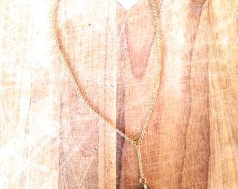 Jewelry. Vintage. Gold Metal Artist Cross