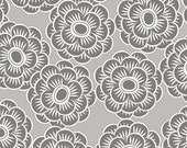 Bliss Floral Gray-Wilmington Prints-1 yard