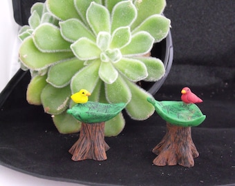 Fairy Garden Bird Bath
