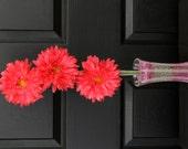 Bright Pink Silk Floral Centerpiece // Silk Floral Centerpiece // Pink Centerpiece