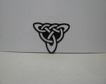 Celtic Knot 002 Metal Wall Yard Art Silhouettev