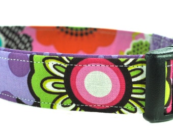 The Vega - Floral Dog Collar