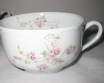 Thomas Tea Cups Pink Roses Germany(3) Pattern #3385