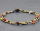 Orange Citrus Clean Anklet