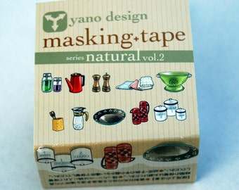 Kitchen Yano design debut series washi tape 20mm x 5M