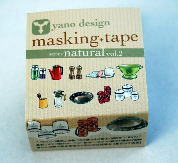 Kitchen yano design debut series washi tape 20mm x 5m from for Kitchen design 5m x 5m