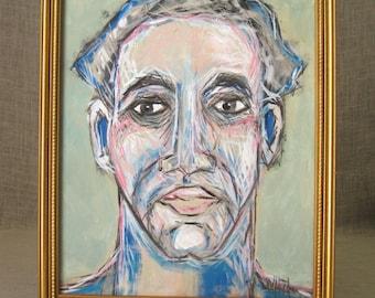 Portrait , Male Portrait , Wil Shepherd , Portrait Painting , Male , Fine Art , Male Portrait Painting , Original ,  Wil Shepherd Studio