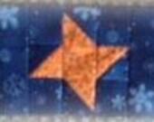 Block of The Month 2014 April's Block, Sparkling Stars PDF Pattern