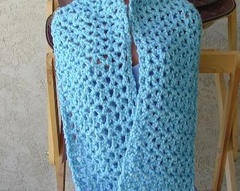 Handmade Crochet SRA Scarf Mobious Infinity Wrap