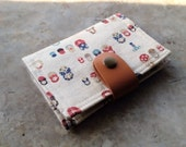 Card Organizer -  Russian doll Matryoshka (20 pockets card holder included)