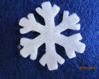 Felt Mini Snowflakes # 3 for Wax Dipping. DIY Kits for Independent Consultants Parties-Hair Accessories Decorations-Costume Embellishments