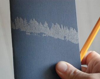 Letterpress Treeline Pocket Journal