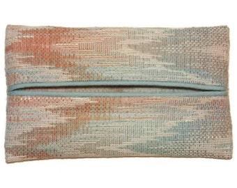 Travel Tissue Holder, Pocket Tissue Case, Designer Tissue Holder, Under 10 Dollars