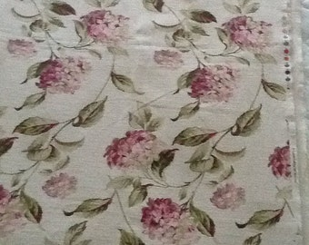 Laura Ashley Home Decorator Fabric, Lovely Hydrangea Designs