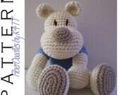 INSTANT DOWNLOAD : KISS Series - Silly Ole Bear Crochet Pattern