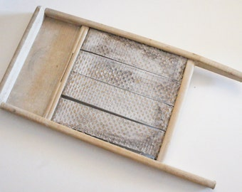Vintage Antique Shabby Chic WashBoard