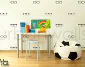 Vinyl Wall Sticker Decal Art - Glasses