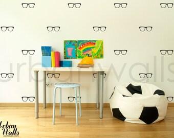 Vinyl Wall Sticker Decal Art - Glasses