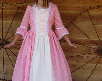 Historical Handmade Modest American Colonial Pioneer Girl