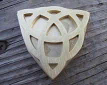Celtic Trinity Knot Brass leather craft tool Embossing Die