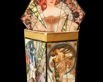 Alphonse Mucha Decorative Box