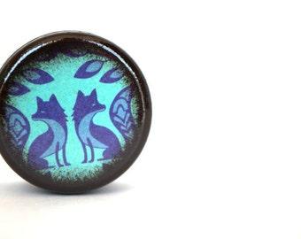 Blue Fox Pill Box - Stocking Stuffers