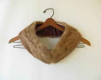Vintage Fur Collar, mink, wrap