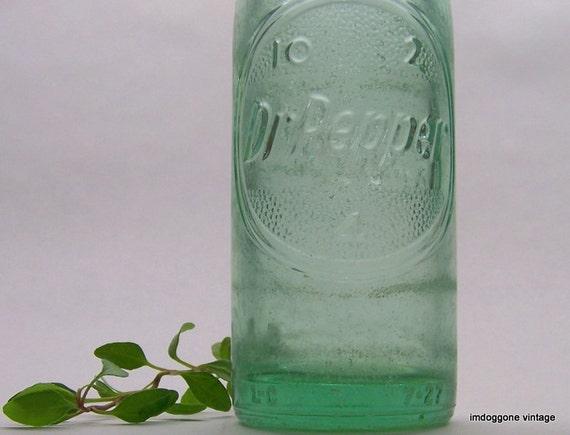 Dr Pepper Lamp : Dr pepper vintage soda bottle houston tx oz light