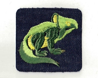 Dinosaur  - Vintage Patch Applique