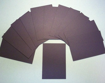 Mat board drop outs for craft projects, one dozen