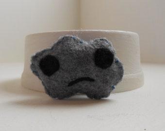 Sad Coud Pin/Brooch