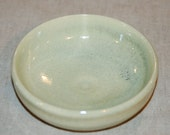 Cat Food Bowl - Matches fountains done in Yellow Jade