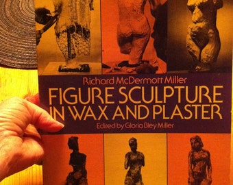 SALE Figure Sculpture in Wax and Plaster old paperback art book