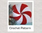 PDF Peppermint Twist Pillow Crochet Pattern
