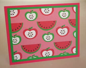 Apples and Watermelons Stationery (4)